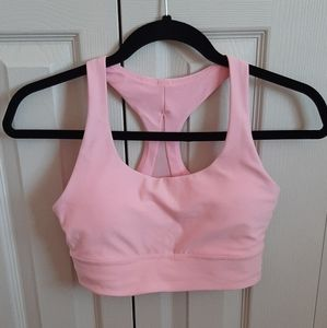 NWOT pink sports bra